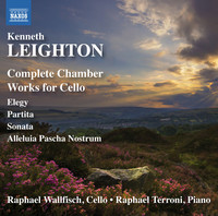 Thumbnail for the Kenneth Leighton - Leighton: Complete Chamber Works for Cello link, provided by host site