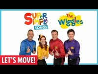 Thumbnail for the The Wiggles - Let's Move! with and Super Simple Songs link, provided by host site