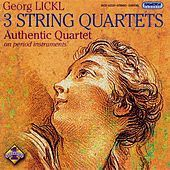 Thumbnail for the Authentic Quartet - Lickl: String Quartets Nos. 1-3 link, provided by host site