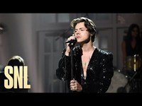 Thumbnail for the Harry Styles - Lights Up - SNL link, provided by host site