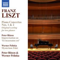 Thumbnail for the Peter Ritzen - Liszt: Piano Concertos Nos. 1 & 2 (Version for 2 Pianos) - Ritzen: Improvisation on Et incarnatus est link, provided by host site