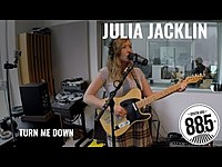 "Thumbnail for the Julia Jacklin - Live @ 885FM || ""Turn Me Down"" link, provided by host site"