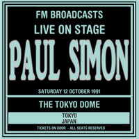 Thumbnail for the Paul Simon - Live On Stage FM Broadcasts - Tokyo Dome, Japan 13th October 1991 link, provided by host site