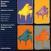 Thumbnail for the Gershwin Piano Quartet - Love Is Here to Stay (Arr. by Gershwin Piano Quartet) link, provided by host site