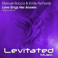 Thumbnail for the Manuel Rocca - Love Sings Her Answer (Estigma Remix) link, provided by host site
