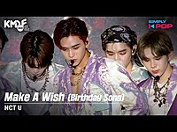 Thumbnail for the NCT U - (엔시티 유) - Make A Wish (Birthday Song) KMDF 2020 link, provided by host site