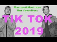 Thumbnail for the Marcus & Martinus - Marcus&Martinus - Tik Tok favorites from 2019 ! link, provided by host site