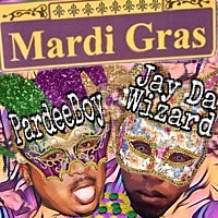 Thumbnail for the Jay Da Wizard - Mardi Gras (Throw Me Something) link, provided by host site