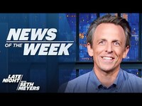 Thumbnail for the Olivia Rodrigo - Meets Biden, Gen. Milley Feared Trump Coup: Late Night's News of the Week link, provided by host site