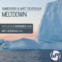 Thumbnail for the Matt Devereaux - Meltdown - Weekend Heroes Remix link, provided by host site