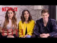 Thumbnail for the Danna Paola - Miguel Bernardeau and Mina El Hammani Teach You Spanish | Elite | Netflix link, provided by host site