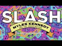 """Thumbnail for the Slash - """"Mind Your Manners"""" Full Song Static Video link, provided by host site"""