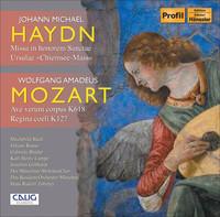 Thumbnail for the Michael Haydn - Missa Sanctae Ursulae, MH 546: Credo (Soprano, Contralto, Tenor, Bass, Chorus) link, provided by host site