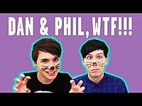 Thumbnail for the Dan and Phil - Most WTF Moments | POPSUGAR Mashup link, provided by host site