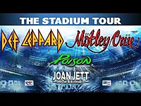Thumbnail for the Def Leppard - The Stadium Tour 2020 link, provided by host site