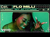 Thumbnail for the Flo Milli - My Attitude (Live Session) | Vevo Ctrl link, provided by host site