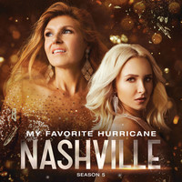Thumbnail for the Nashville Cast - My Favorite Hurricane link, provided by host site
