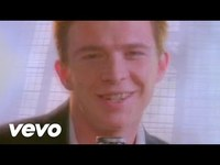Thumbnail for the Rick Astley - Never Gonna Give You Up link, provided by host site