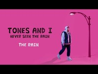 Thumbnail for the Tones and I - NEVER SEEN THE RAIN link, provided by host site