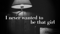Thumbnail for the Carly Pearce - Never Wanted To Be That Girl (Lyric Video) link, provided by host site