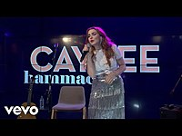 Thumbnail for the Caylee Hammack - New Level Of Life (YouTube Space Performance) link, provided by host site