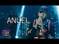 Thumbnail for the Anuel Aa - No Llores Mujer link, provided by host site