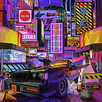 """Thumbnail for the Run the Jewels - No Save Point (From """"Cyberpunk 2077"""") link, provided by host site"""