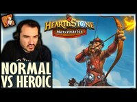 Thumbnail for the Kripp - NORMAL VS HEROIC IN MERCENARIES - Hearthstone Mercenaries link, provided by host site