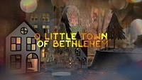 Thumbnail for the Nat King Cole - O Little Town Of Bethlehem (Lyric Video) link, provided by host site