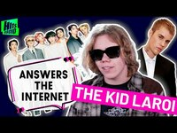 Thumbnail for the The Kid LAROI - On Justin Bieber's Biggest Fear & BTS Collab!   The Kid LAROI Answers The Internet link, provided by host site