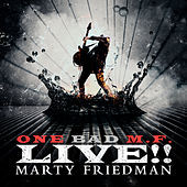 Thumbnail for the Marty Friedman - One Bad M.F. Live!! link, provided by host site