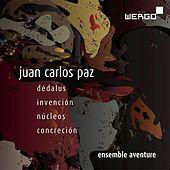 Thumbnail for the Ensemble Aventure - Paz: Dédalus / Invención / Núcleos / Concreción link, provided by host site