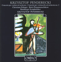 Thumbnail for the Krzysztof Penderecki - Penderecki: Violin Concerto No. 1 & Cello Concerto No. 2 link, provided by host site