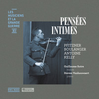 Thumbnail for the Steven Vanhauwaert - Pensées intimes (Les musiciens et la Grande Guerre, Vol. 12) link, provided by host site