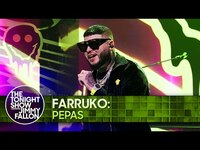 Thumbnail for the Farruko - Pepas   The Tonight Show Starring Jimmy Fallon link, provided by host site
