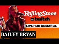 Thumbnail for the Bailey Bryan - Performs Live | RS on Twitch link, provided by host site