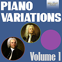 Thumbnail for the Johann Sebastian Bach - Piano Variations, Vol. 1 (J.S. Bach & Handel) link, provided by host site
