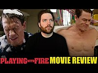 Thumbnail for the Chris Stuckmann - Playing with Fire - Movie Review link, provided by host site