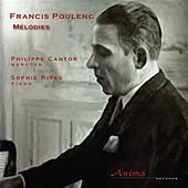 Thumbnail for the Philippe Cantor - Poulenc: Mélodies link, provided by host site