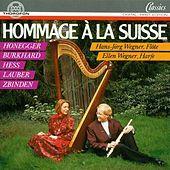 Thumbnail for the Hans-Jörg Wegner - Prélude et Fugue à deux voix in D-Moll für Flöte Solo, op. 49: II. Fugue à 2 Voix. Ben moderato link, provided by host site