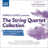 Thumbnail for the Eder Quartet - Purple Classics Presents: The String Quartet Collection link, provided by host site