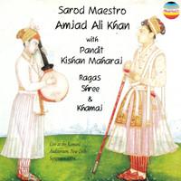 Thumbnail for the Pandit Kishan Maharaj - Ragas shree and khamaj - Live At Kamani Auditorium, New Deli, September 1994 link, provided by host site