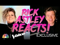 "Thumbnail for the Rick Astley - Reaction to the Coaches' ""Together Forever"" - The Voice 2021 link, provided by host site"