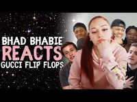 """Thumbnail for the Bhad Bhabie - Reacts to """"Gucci Flip Flops"""" link, provided by host site"""