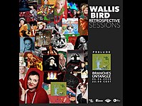 Thumbnail for the Wallis Bird - Retrospective announcement link, provided by host site