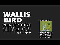 Thumbnail for the Wallis Bird - RETROSPECTIVE SESSIONS - PRELUDE 'BRANCHES UNTANGLE' link, provided by host site