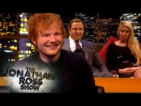 Thumbnail for the Ed Sheeran - Reveals His Worst Ever Fan Gift!   The Jonathan Ross Show link, provided by host site
