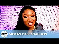 Thumbnail for the Megan Thee Stallion - Reveals The First Thing She Did After Her Grammy Nominations link, provided by host site