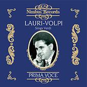 Thumbnail for the Giacomo Lauri-Volpi - Rigoletto: Ella mi fu rapita...Parmir veder le lagrime (Recorded 1934) link, provided by host site