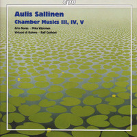 Thumbnail for the Aulis Sallinen - Sallinen: Chamber Music Iii, Vi and V / Introduction and Tango Overture / Elegy for Sebastian Knight link, provided by host site